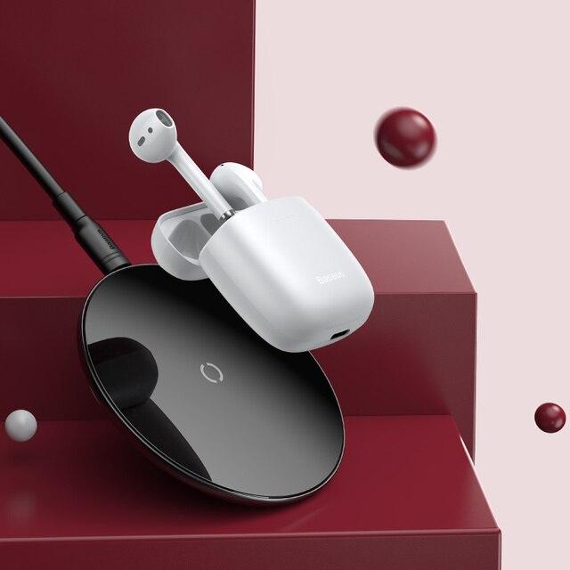 Baseus W04 Sports tws Wireless Headphones Bluetooth Earphone 5.0 In Ear Headset Handsfree Mini True Wireless Earbuds for Phones 4