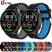 Correa de silicona para reloj inteligente Xiaomi Mi, pulsera deportiva de repuesto con edición deportiva a Color
