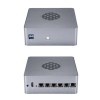 Qotom 6 LAN Mini PC Celeron i3 i5 AES NI VPN router Cent Sophos, Vyos, Untangle Computer linux Ubuntu Pfsense Mini Computer