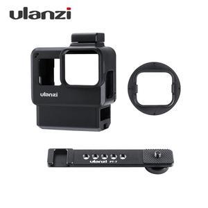 Image 1 - Ulanzi V2 プロスポーツカメラケージvlogケース保護ケージマイクビデオライト 52 ミリメートルフィルターマイクアダプタ移動プロヒーロー 7 6 5