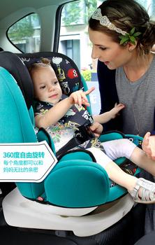 Foteliki dziecięce niemowlęta i niemowlęta leżą 360 prosty samochód przenośny 0-4-9-12 lat General Motors tanie i dobre opinie Babyfond Regulowany 36kg 40inch 60inch 9-36 kg Pięć punktów HB-28 20inch Złącze isofix 0-3 M 4-6 M 7-9 M 10-12 M 13-18 M
