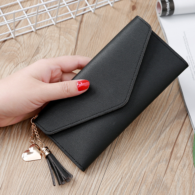 H3f16029028884f29889b018c14eb4f61A - Wallet for Women Hasp Envelope Portwel Damski