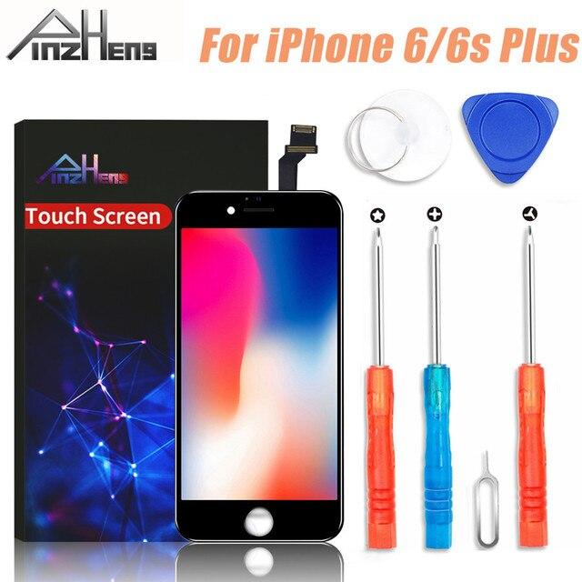 PINZHENG 100% AAAA kaliteli LCD ekran iPhone 6 6s artı ekran LCD ekran sayısallaştırıcı dokunmatik ekran değiştirme lcd
