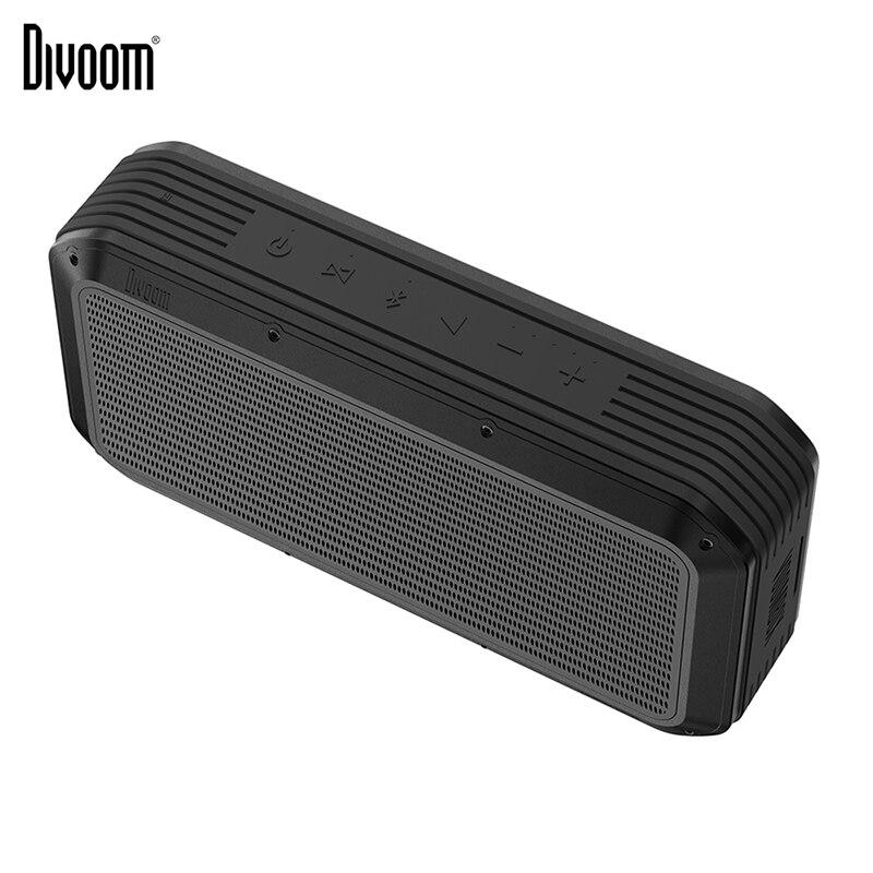 Haut-parleur Bluetooth Divoom Voombox Pro portable avec sortie 40w et chargeur 10000 mAh compatible pour ios android xiaomi