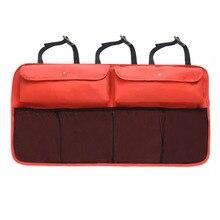 Backseat Car Storage Bag Rear Seat Back Hanging Pocket Multi-pocket Trunk Case Organizer for Cars Trunk Car Styling