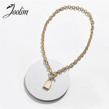 Joolim высокого класса Золото Цвет Купер подвеска в форме сердца