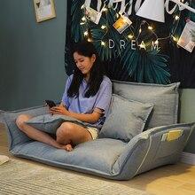Складной Регулируемый ленивый напольный диван-кровать японский татами Staw Mettress мебель гостиная лежащий диван кресло подушка