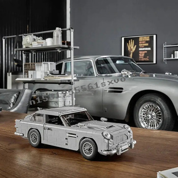 New 1295Pcs Technic Creator Expert James Bond Building Blocks Bricks Classic 007 10262 Cars Model Children Toy  Gift 1