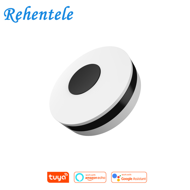 Smallest Min WiFi Smart IR Remote Controller Smart Home Compatible with Alexa, Google Assistant, Smart Life, TuyaSmart