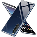 Soft Clear Handy Fall für Sony Xperia 1 5 10 Ii Iii Plus X Peria Xperia10 5G Coque capa Transparent Thin Zurück Abdeckung Funda