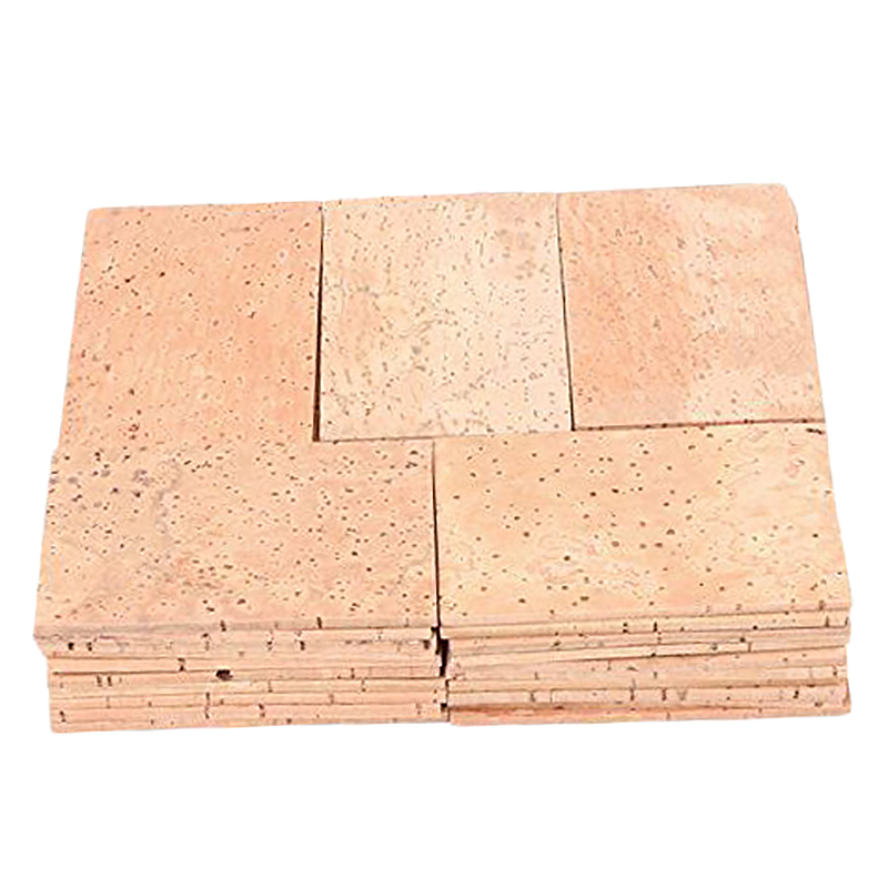 50Pcs Saxophone Neck Cork Sheet 2Mm Soprano Tenor Alto Saxophone Clarinet Joint Natural Neck Cork Sheet Natural Kit