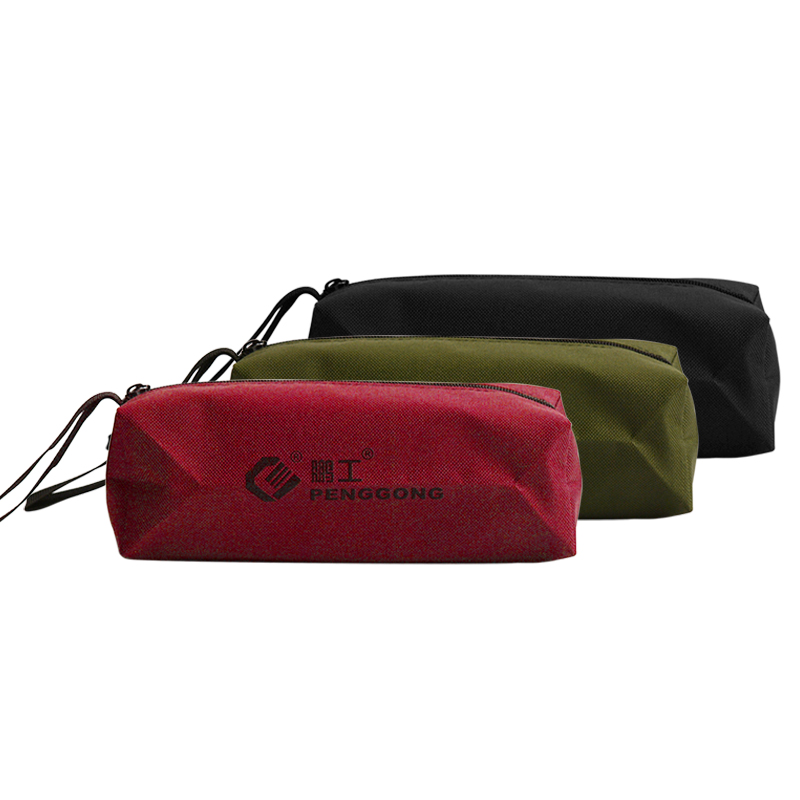 Storage Tools Utility Bag 1Pc Oxford Canvas Multifunctional Waterproof For Small Metal Parts With Carrying Handles