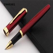 Pen Ballpoint-Pens Rollerball Office-Stationery Business Red-Wine Medium-Nib School Student