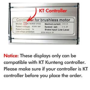 Image 5 - Bollfit Kunteng Kt Lcd8h Lcd8 Display E Fiets Elektrische Fiets Display Conversie Kit Accessoires Kt Lcd 8 Display