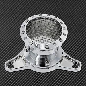 Image 4 - Motorrad CNC Geschwindigkeit Stapel Luft Reiniger Intake Filter Chrom Aluminium Passend Für Harley Sportster Eisen XL883 XL1200 Benutzerdefinierte
