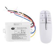цена на Wireless Remote Control Light Switch Receiver Transmitter Digital Wireless Wall Remote Control Switch ON/OFF 220V Lamp Light