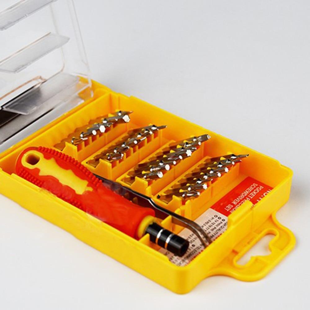 Высокое качество точность 32 в 1 аппаратные Отвертки Набор инструментов переносной комплект с отверткой дешево и хит