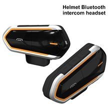 800 ~ 1000M 2.4Ghz MAX97220A Motorfiets Handsfree Call Kit Bluetooth Helm Headset Interphone Hoofdtelefoon Fm Radio motor Oortelefoon