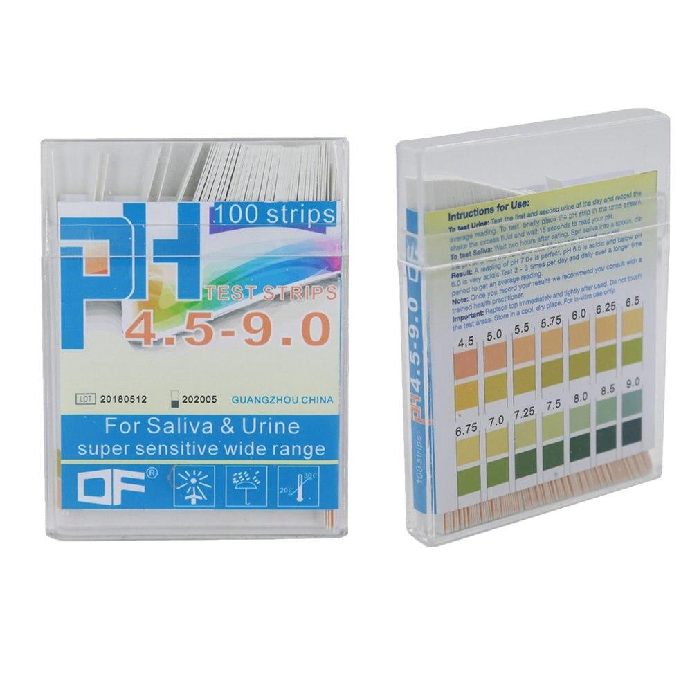 Ferramenta de Medição de ph Conjunto com Tiras de Medição de ph Indicador de Alcance Soilhamento de Água Litmus Papel