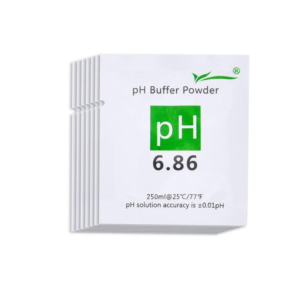 20pcs PH Buffer Powder for PH Test Meter Medida Solución de - Instrumentos de medición - foto 5