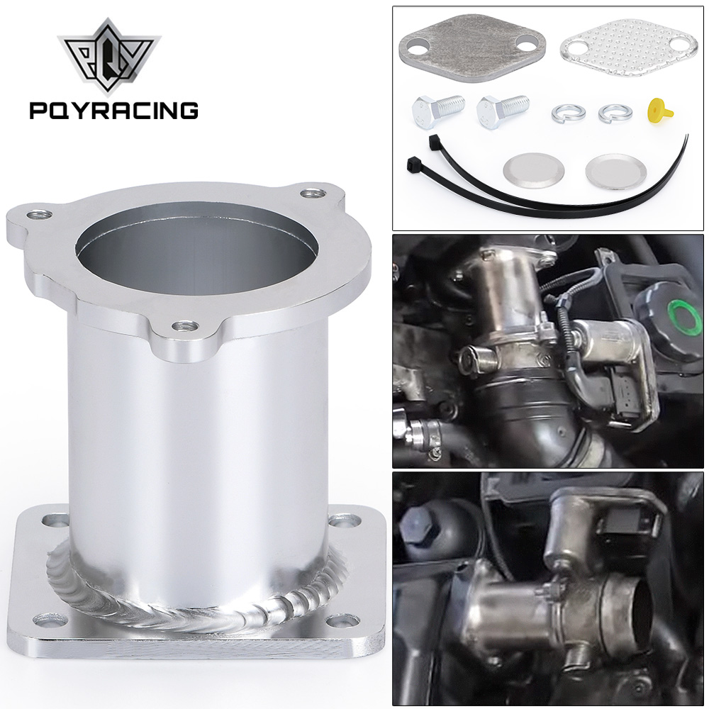 PQY - ALUMINUM EGR REMOVAL KIT BLANKING BYPASS FOR BMW 5 SERIES E60 E61 E61N 520i 525d 530d 535d DELETE KIT PQY-EGR08