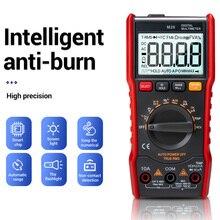 M20 Digital Multimeter 6000 Zählt Tester ESR Meter Multimeter AC/DC Amperemeter NCV Frequenz Meter mit Hintergrundbeleuchtung PUO88