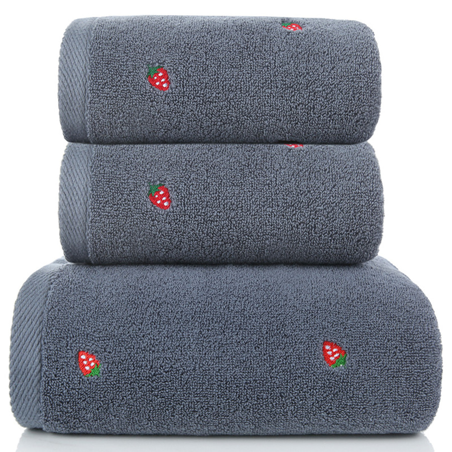 Pure Cotton Jacquard Bath Towel for Women Set Towels Bathroom Towels Bathroom Cotton Soft Bath Towel