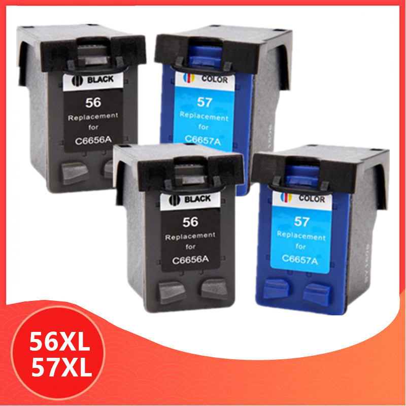 C6656a C6657a ink <font><b>cartridge</b></font> for <font><b>hp</b></font> 56 57 for hp56 for hp57 56XL 57XL Deskjet 450 450cbi 450ci 450wbt F4140 F4180 5150 <font><b>5550</b></font> image