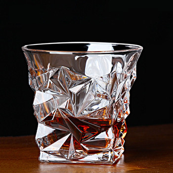 MultiPattern kieliszek do whisky bezołowiowy żaroodporny przezroczysty kryształ zagęścić piwo wino koktajl wódka kubek Drinkware Bar prezenty tanie i dobre opinie Thimorberg ROUND Ce ue Szkło Ekologiczne Zaopatrzony Whiskey cup Transparent Water Wine Whiskey Tea Juice Milk Vacuum bag and foam