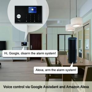 Image 2 - Tuya 433MHz Wifi 3G 4G Home Burglar Security Alarm System,Apps Control Wireless Alarm Host Kit With Ptz IP Camera Baby Monitor