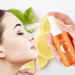 100% Puur Natuurlijke Vitamine C Toner Verhelderende Poriën Hydraterende Huid Spuiten Whitening Krimpen Gezicht Olie Serum Zorg Con
