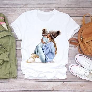 Women Cartoon Super Mom Life Momlife Summer Print Lady T-shirts Top T Shirt Ladies Womens Graphic Female Tee T-Shirt 13