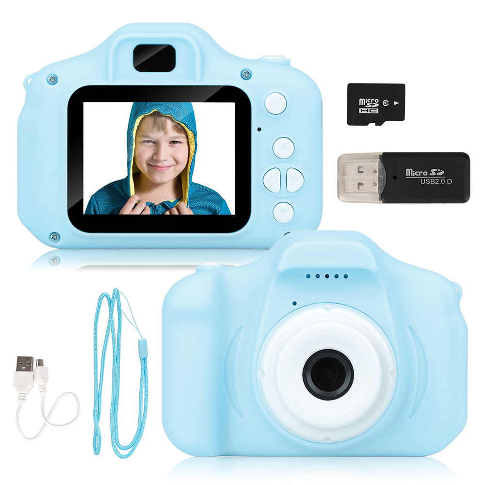New Arrive  Cheap Rechargeable Photo Video Playback Cameras Kids Toy For Girl 32GB Mini Children's Camera Child Birthday Present 1