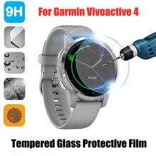 3 шт. защитная пленка из закаленного стекла для Garmin Vivoactive 4 защитная пленка для Vivoactive4 пленка аксессуары для умных часов
