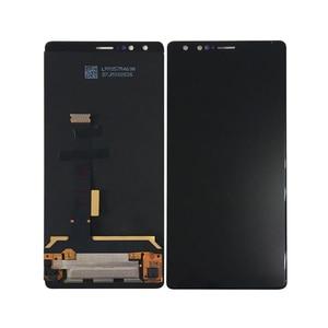 "Image 4 - الأصلي M & Sen 5.73 ""ل ZTE النوبة Z17S NX595J شاشة الكريستال السائل شاشة لوحة اللمس إطار محول الأرقام ل ZTE النوبة Z17 S"