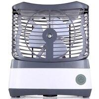 Ventilador de umidificação spray de refrigeração usb desktop pequeno ventilador de ar condicionado|Vent.| |  -