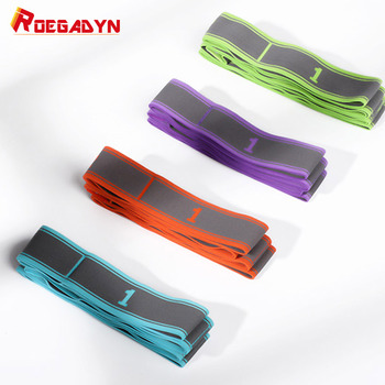 ROEGADYN Exercise Durable Fabric Resistance Bands Pull Up Super Elastic Bands For Fitness Yoga Resistance