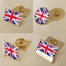 Герб Великобритании/британский флаг Национальная эмблема брошь/значки/значок