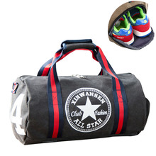 Unisex Gym Bags Sport Bag Men Fitness Football Sports Women Yoga Canvas Handbag Shoulder Travel Outdoor Pack