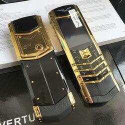 2018 Nuovo Stile di Rittal Vertu Mobile Del Telefono K8 + Bella Apparenza di Grado Superiore degli uomini di Lusso Candy Bar Piccolo Schermo del Telefono Mobile
