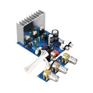Image 5 - 2.1 15W * 2 + 30W TDA2030 double AC12V 15V amplificateur de basse carte Sub Audio stéréo pour bricolage haut parleur ampli accessoires F6 013