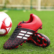 Kids Boy Girls Soccer Shoes football Shoes sneakers turf futsal original football boots Comfortable Waterproof Size 31-43#