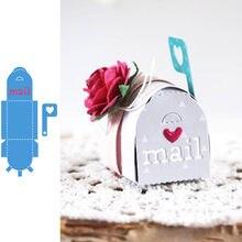 Симпатичный почтовый ящик в форме сердца металлические штампы