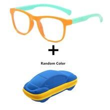 Для мальчиков и девочек анти синий светильник детские очки оптическая