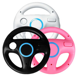 2pcs For Mari Kart Racing Wheel Games Steering Wheel for Wii Remote Game Controller For Nintendo Wii Remote Game Mulit-colors