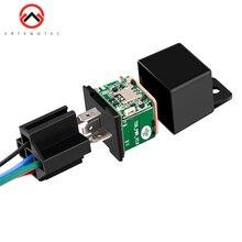 Оригинальные автомобильные реле gps трекер автомобильная ударная сигнализация gps GSM локатор отслеживающий пульт дистанционного управления Противоугонный мониторинг отключение масла