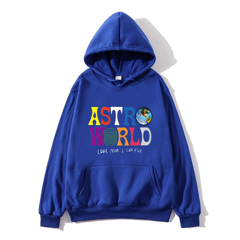 ASTROWORLD look mom i can fly hoodie Travis Scott Astroworld hoodie 2019 Gift Print Men's Hip Hop Pullover Sweatshirt(China)