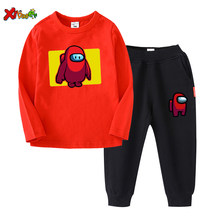 Baby Boy Clothing Suits Autumn Casual Baby Girl Clothes Sets Spring Kids Set Children Long Sleeve T-shirt Tops +Pants Outfit Set