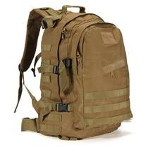 Mochila táctica militar 3D de 40L para deportes al aire libre, mochila de alpinismo, escalada, Camping, senderismo, senderismo, bolsa de viaje para exteriores