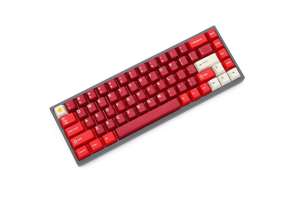 teclado mecânico pcb programado qmk através do